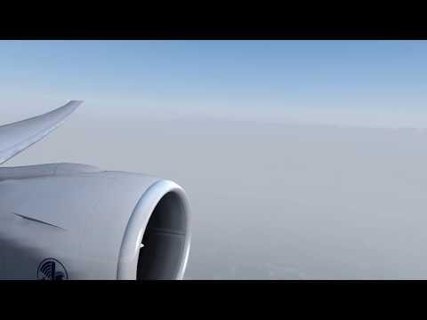KSFO LFPG Descente, approche and Landing Paris CDG // Air France Boeing 777-300ER // P3D V4