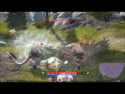 MMO Combat | City of Titans