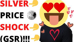 NEW SILVER BULLION PRICE FORECAST!!!  (GOLD TO SILVER RATIO DATA)