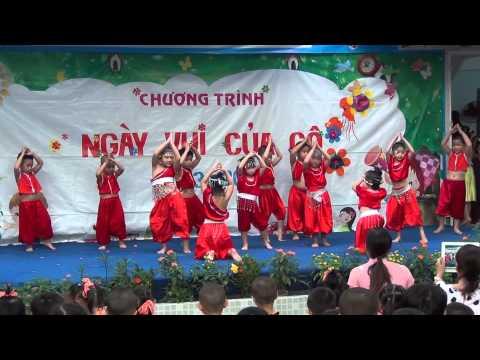 Múa ngày 20/11/2013 Trường Mầm Non Quang Trung Q12 (Full)