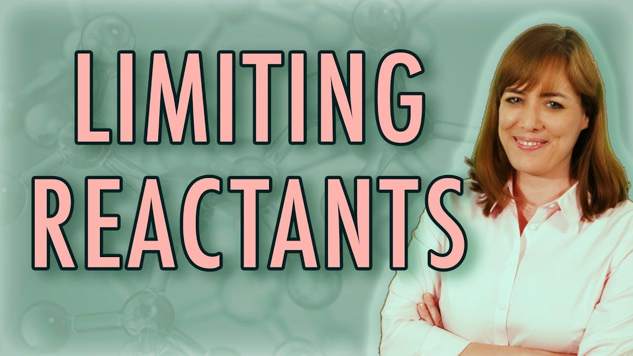 how to solve a limiting reactant problem