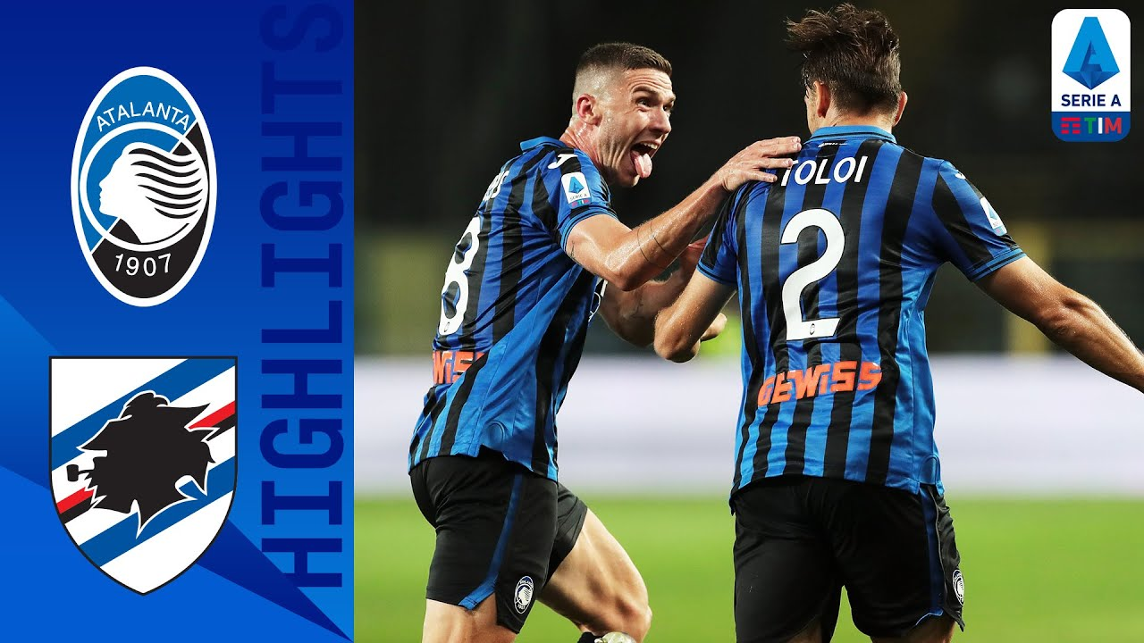 Atalanta see off Sampdoria to go third in Serie A
