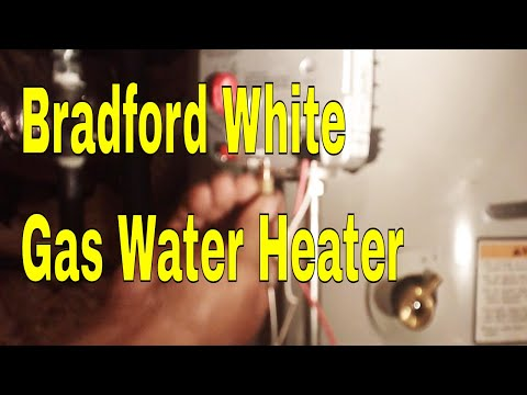 Bradford White Gas Water Heater In Attic Repair Won't Lite 👍👍👍