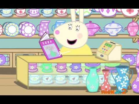 peppa pig mr bull in a china shop youtube. Black Bedroom Furniture Sets. Home Design Ideas