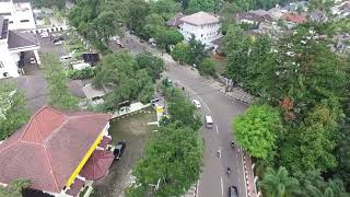 Drone Gedung Asia Afrika Kota Bandung