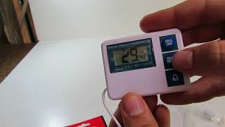 Digital Fridge And Freezer Thermometer