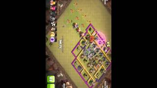 ~Epic attack of Clash of clans on War~