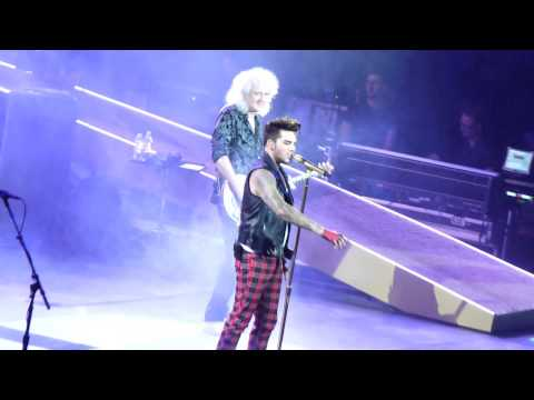Queen + Adam Lambert - Radio Ga Ga - Sao Paulo - September 16th