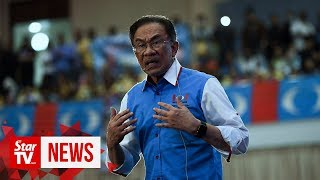 Don't test my patience, says Anwar