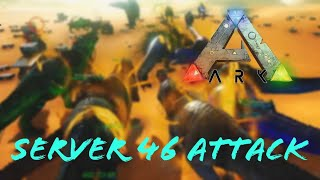 We Attacked An Invictus Main Server! Server 46 Raid! - Ark Survival Evolved Attack