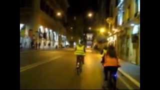 Roma di notte ..Piazza del Popolo- Via del Corso