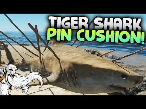 "Stranded Deep Gameplay - ""TIGER SHARK PIN CUSHION!!!""  - Let's Play Walkthrough"