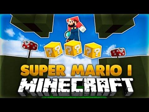 SUPER MARIO I MINECRAFT!!   One Command Block