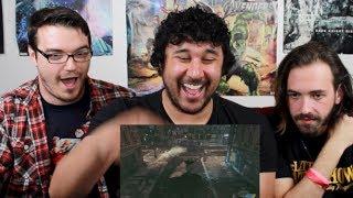 BATMAN: ARKHAM KNIGHT GAMEPLAY TRAILER REACTION!!!