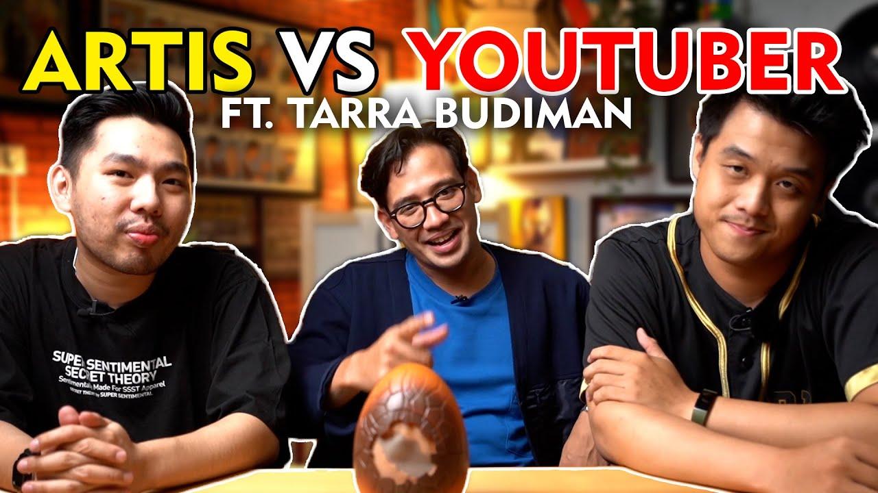 NGOBROL SANTAY PERBEDAAN YOUTUBER DENGAN ARTIS BERSAMA TARRA BUDIMAN!