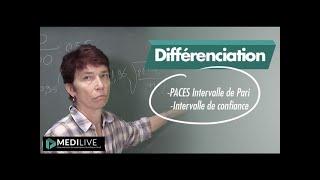 PACES  Intervalle de Pari / Intervalle de confiance
