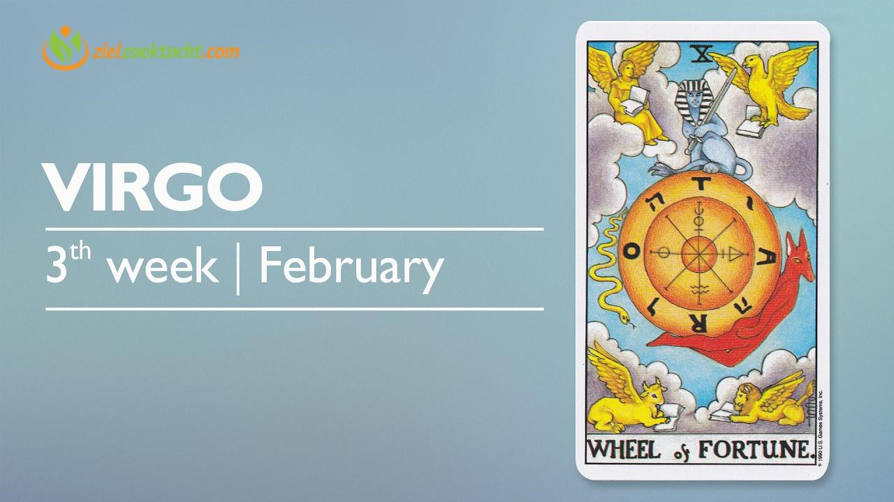virgo weekly horoscope 13 february