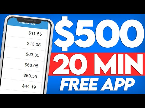 Free App Pays $50 Per 2 MINS of Work! (How To Make Money Online)
