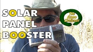 Inexpensive Solar Cell Booster