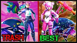 10 BEST SKIN/BACKBLING/PICKAXE/GLIDER SETS In FORTNITE!