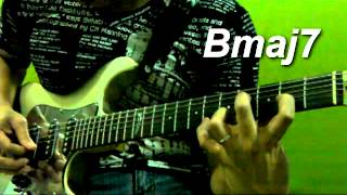 bebebe tuning lesson 02 bmaj7 chords