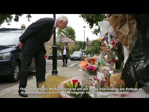 Ex-judge sir martin moore-bick opens grenfell tower fire inquiry
