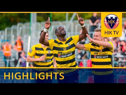 Highlights: Hobro IK – FC Midtjylland 1-4 (11-05-2016)