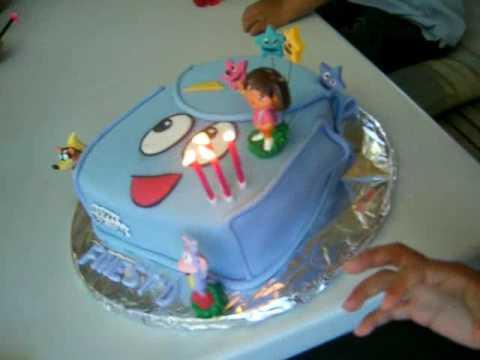 Finesss Dora The Explorer Birthday Cake