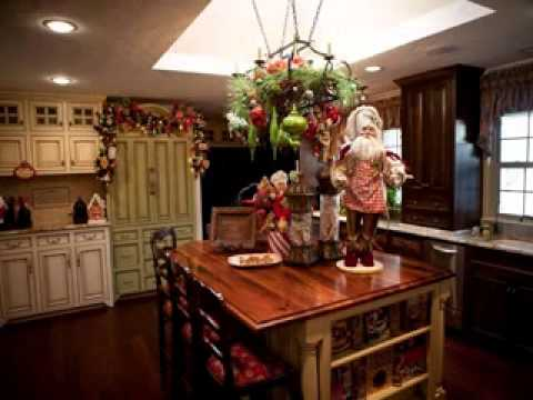 Best Christmas kitchen decor - YouTube - christmas kitchen decor