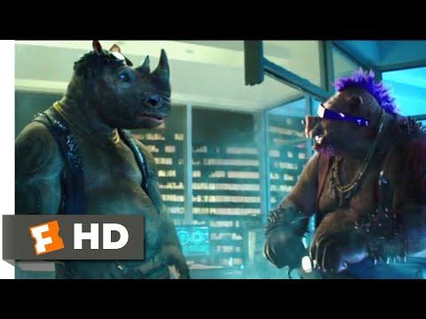 Teenage Mutant Ninja Turtles 2 (2016) - Bebop & Rocksteady Scene (3/10) | Movieclips