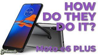Motorola Moto e6 Plus Smartphone Review