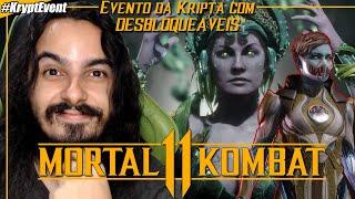 Evento da Kripta com DESBLOQUÁVEIS para Frost & Cetrion | Mortal Kombat 11 Krypt Event #MK11