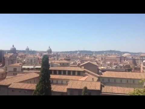 Rome 2017. From outside Terrazza Caffarelli, Capitoline Museums ...