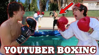 YOUTUBER BOXING (OVER POOL)