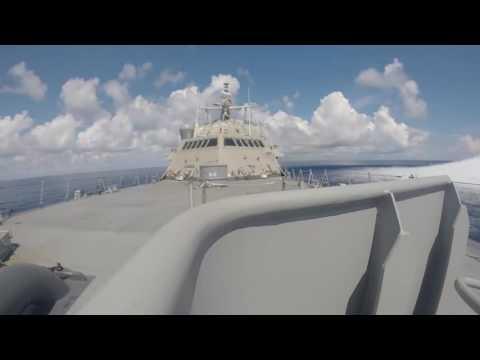 USS Milwaukee (LCS 5) Full Ship Shock Trials- September 2016
