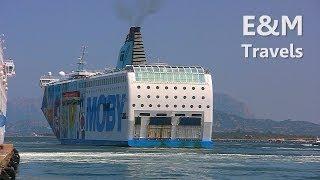 Sardinia | Moby Wonder Ferry from Olbia to Livorno