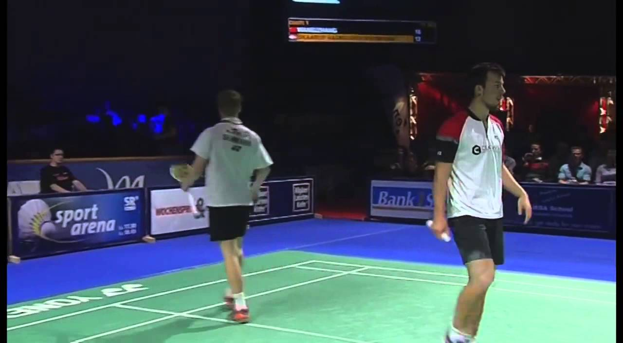 F 2014 Bitburger Open Wang Yilv Zhang Wen Zhang vs Anders