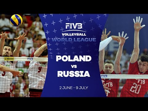 Poland v Russia highlights - FIVB World League