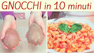 GNOCCHI di PATATE FACILISSIMI - Quick and Easy Gnocchi Recipe
