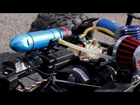 Running the RC Silver Bullet Nitrous Injection Kit by RB Innovations