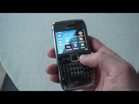 Раритетные девайсы. Nokia E71 - смартфон с полноценной QWERTY-клавиатурой.