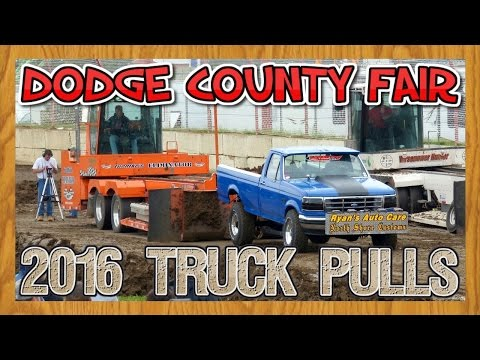 BTPA 4WD Truck Pulls at the Dodge County Fair near Beaver Dam Wisconsin