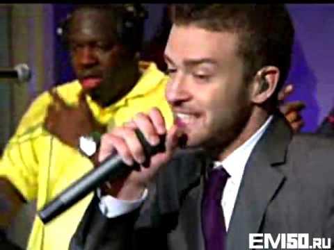 50 Cent, Justin Timberlake, Timbaland   Ayo Technology Live On MTV VMA 2007 Eminem50cent Ru
