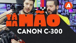 Testamos a CANON C-300 - a câmera de cinema com pegada de HDSLR | TÁ NA MÃO