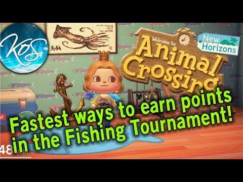 Animal Crossing - FISHING TOURNAMENT TIPS & TRICKS - New Horizons