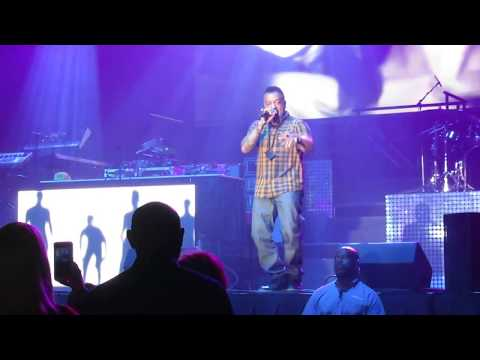 Freedom Williams of C+C Music Factory Performing - I Love the 90s @ Houston NRG Arena 7/30/2017