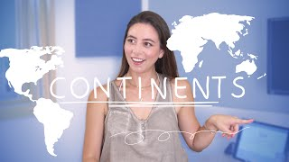 Weekly German Words with Alisa - Continents