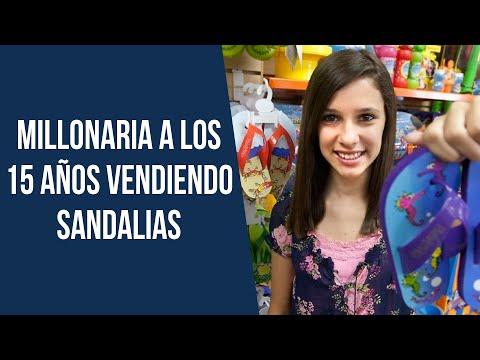 Millonaria a los 15 años vendiendo sandalias - Madison Robinson 💰
