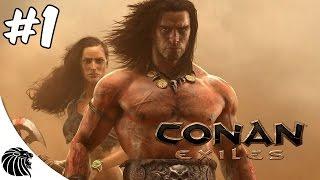 CONAN EXILES - NOVO SURVIVAL ONLINE - GAMEPLAY #1