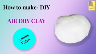 How to make clay with all purpose flour